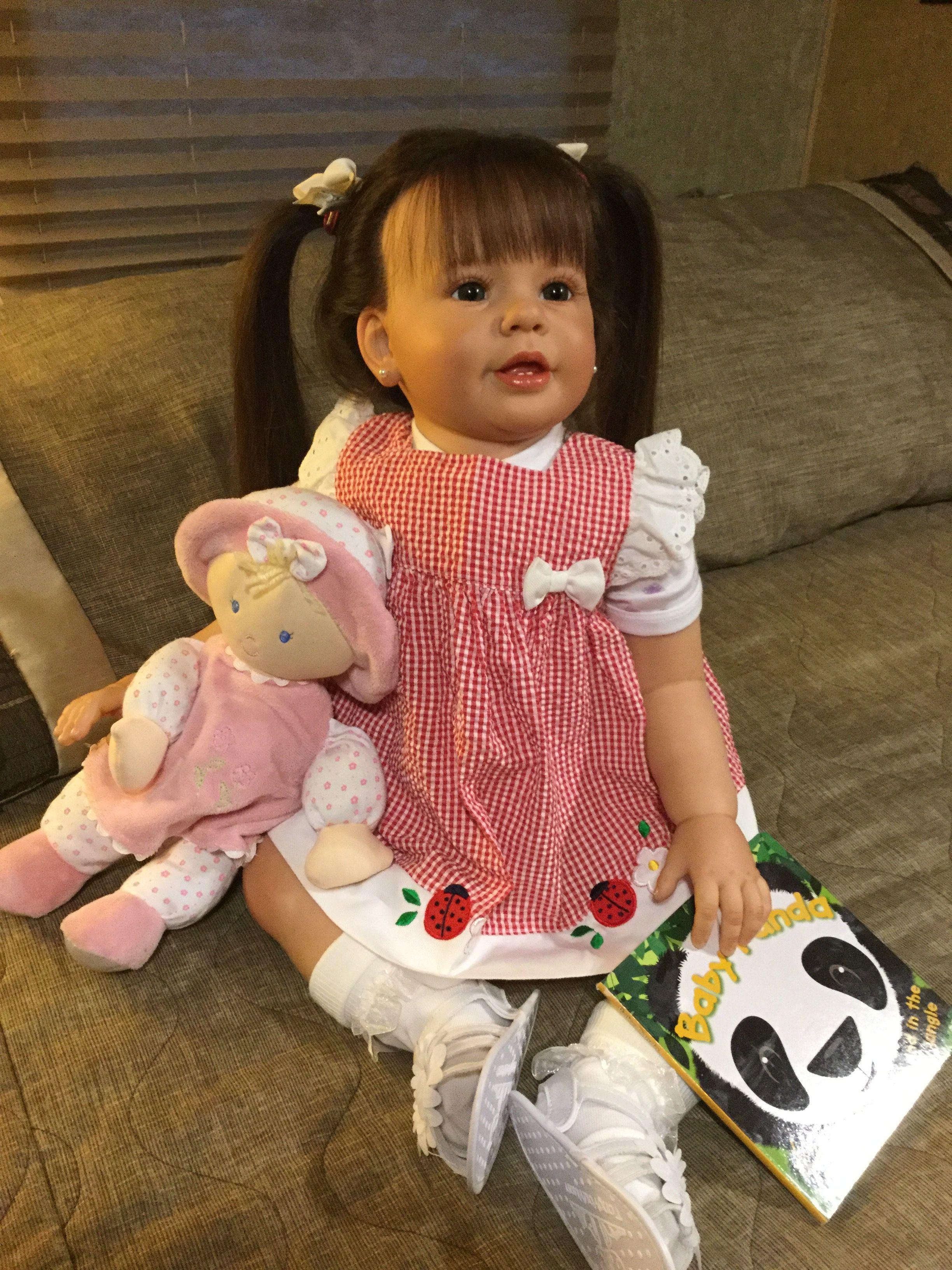Skylar Nicole toddler reborn Reborn babies, Baby dolls