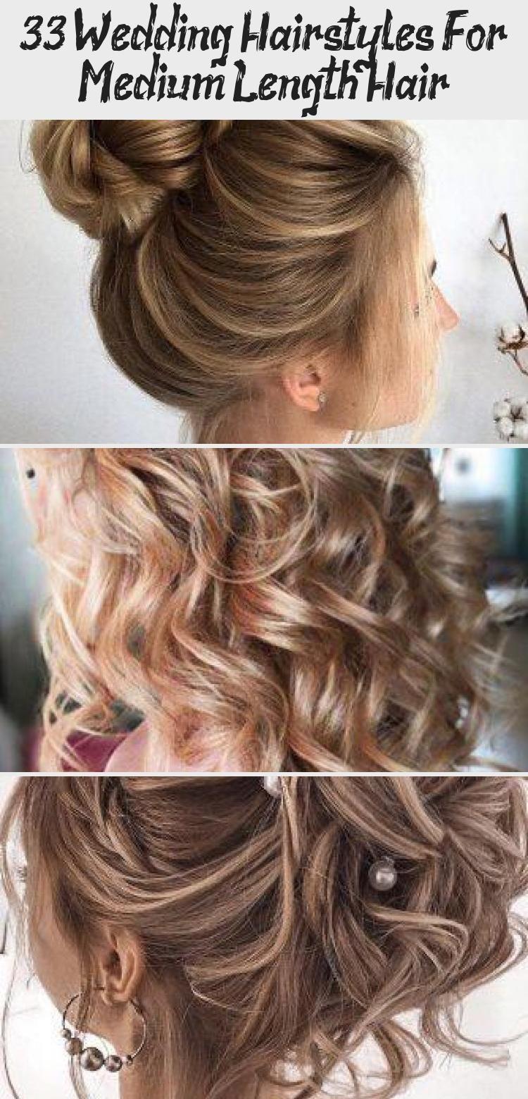 21+ Loose curls medium hair wedding ideas in 2021