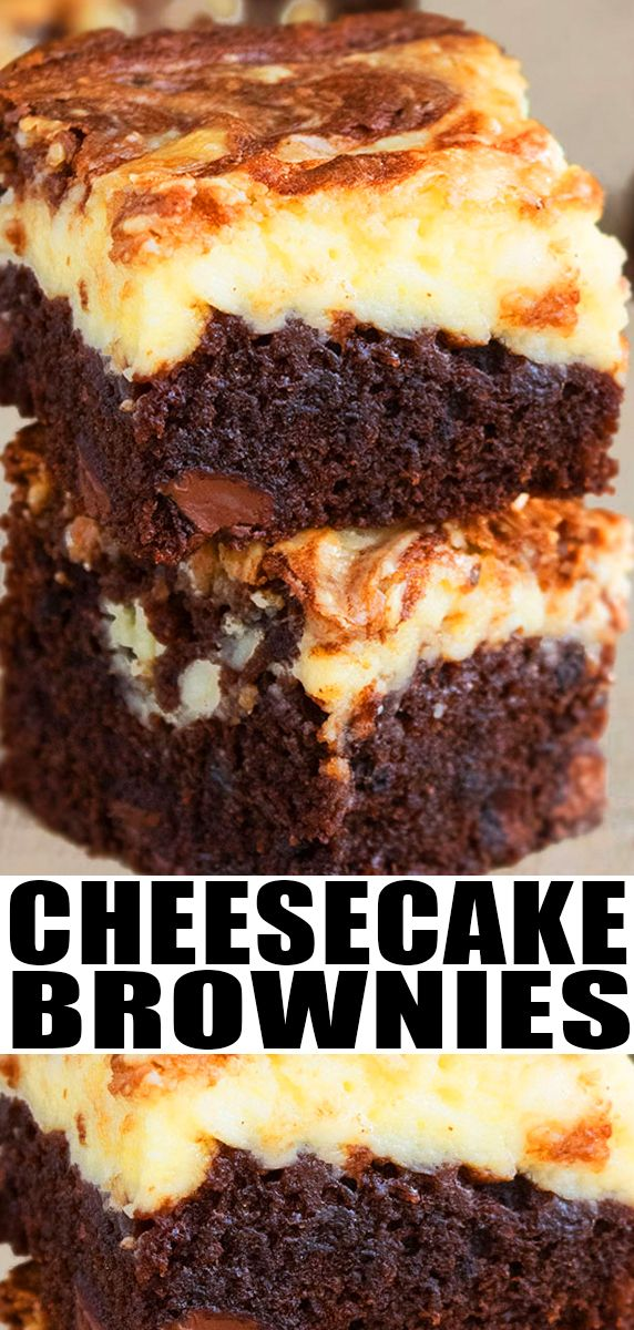 Fudgy Cheesecake Brownies Recipe