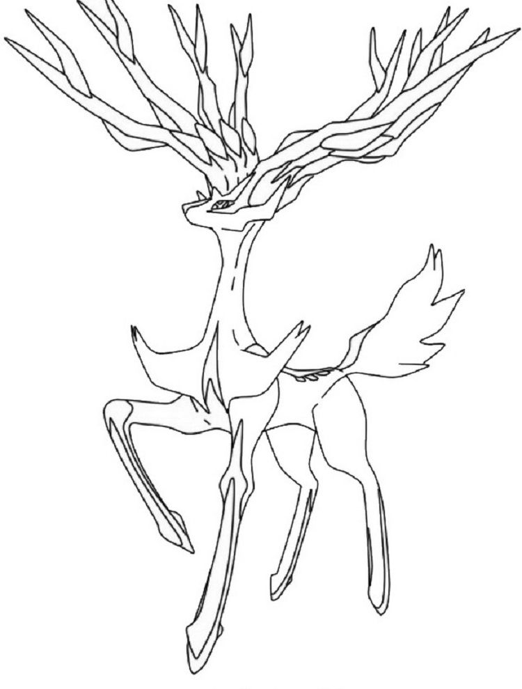 Pokemon Coloring Pages Xerneas Prinzewilson Com Pokemon Coloring Pokemon Coloring Pages Pokemon Sketch