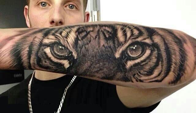 Espectaculares Tatuajes De Tigres Y Su Significado Tigr