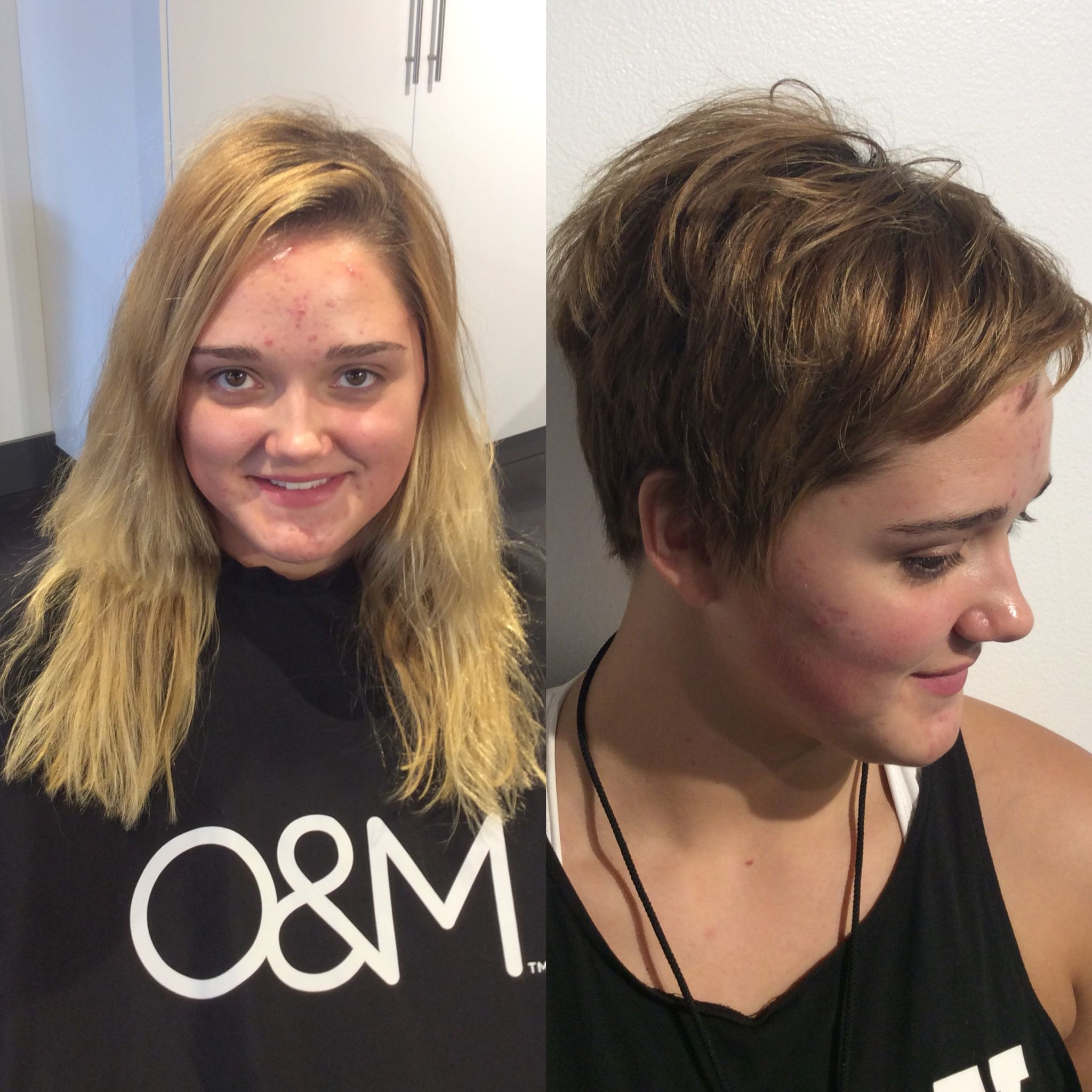 Pixie Haircut Before And After Haircut Short Womens Haircuts