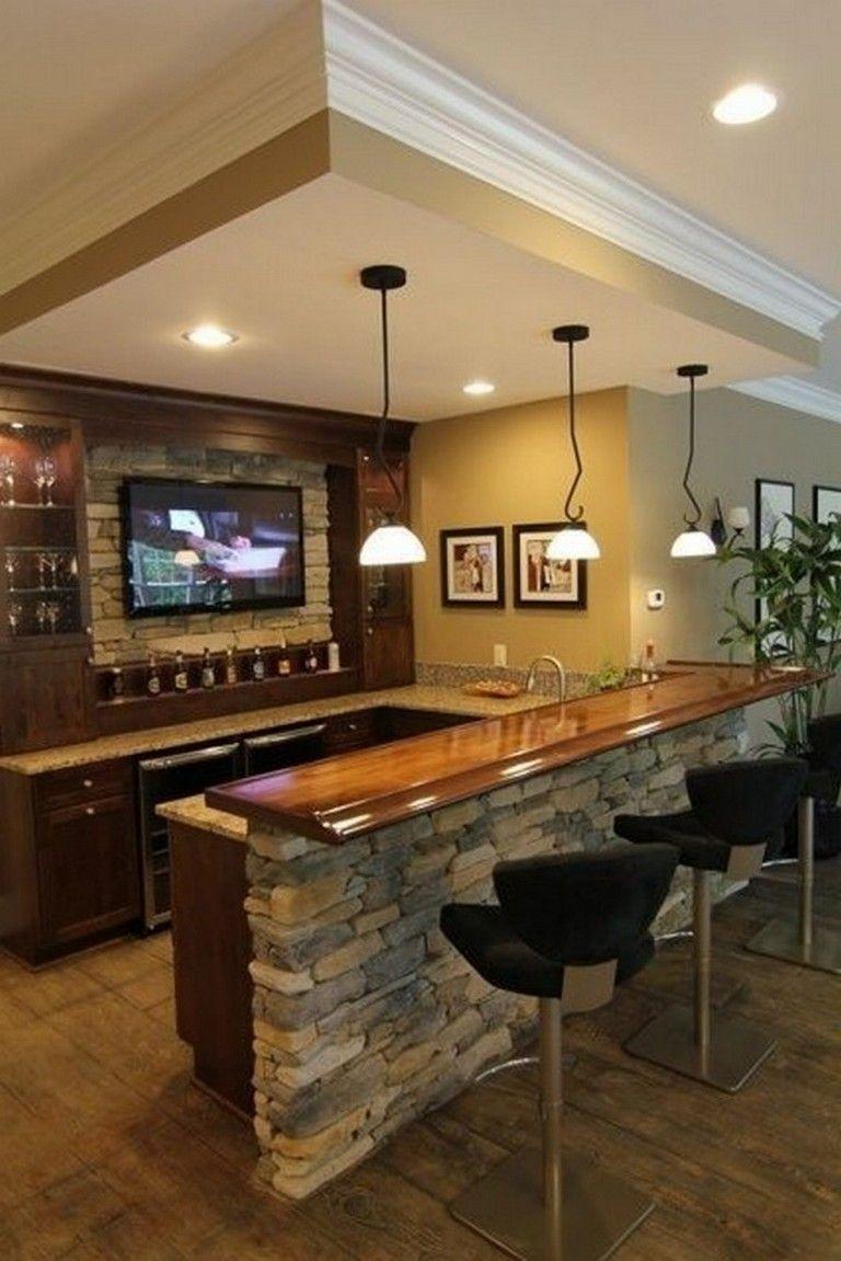 Rec Room Bar Designs: 30 Calm Pallet For Rec Room Basement Look Amazing