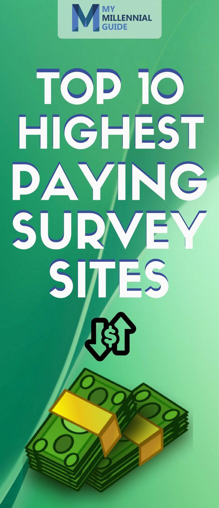 Top 10 best survey sites