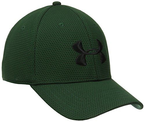 No complicado Serrado Ligero  Under Armour Men's Blitzing Cap, Medium/Large, Forest Green ...