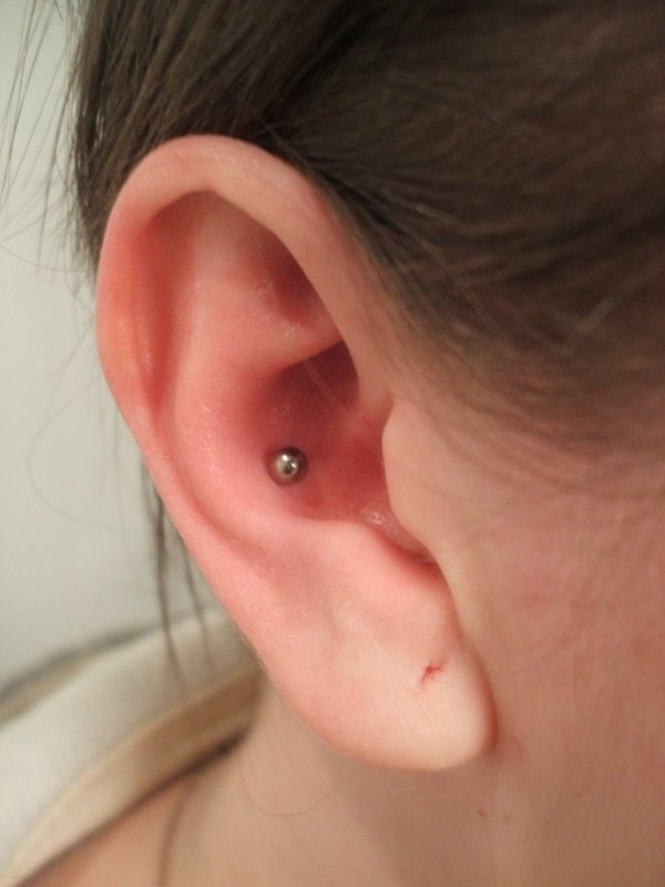 80 Inner And Outer Conch Piercing Ideas You Can T Go Wrong With