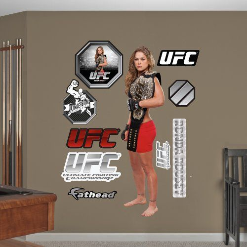 Fathead Wall Decal Real Big Ufc Ronda Rousey Fathead Http