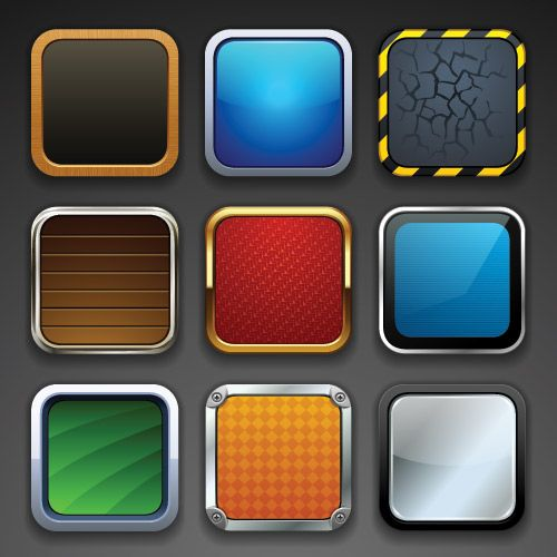 An iPad & iPhone Icon Tutorial Iphone icon, App icon, App