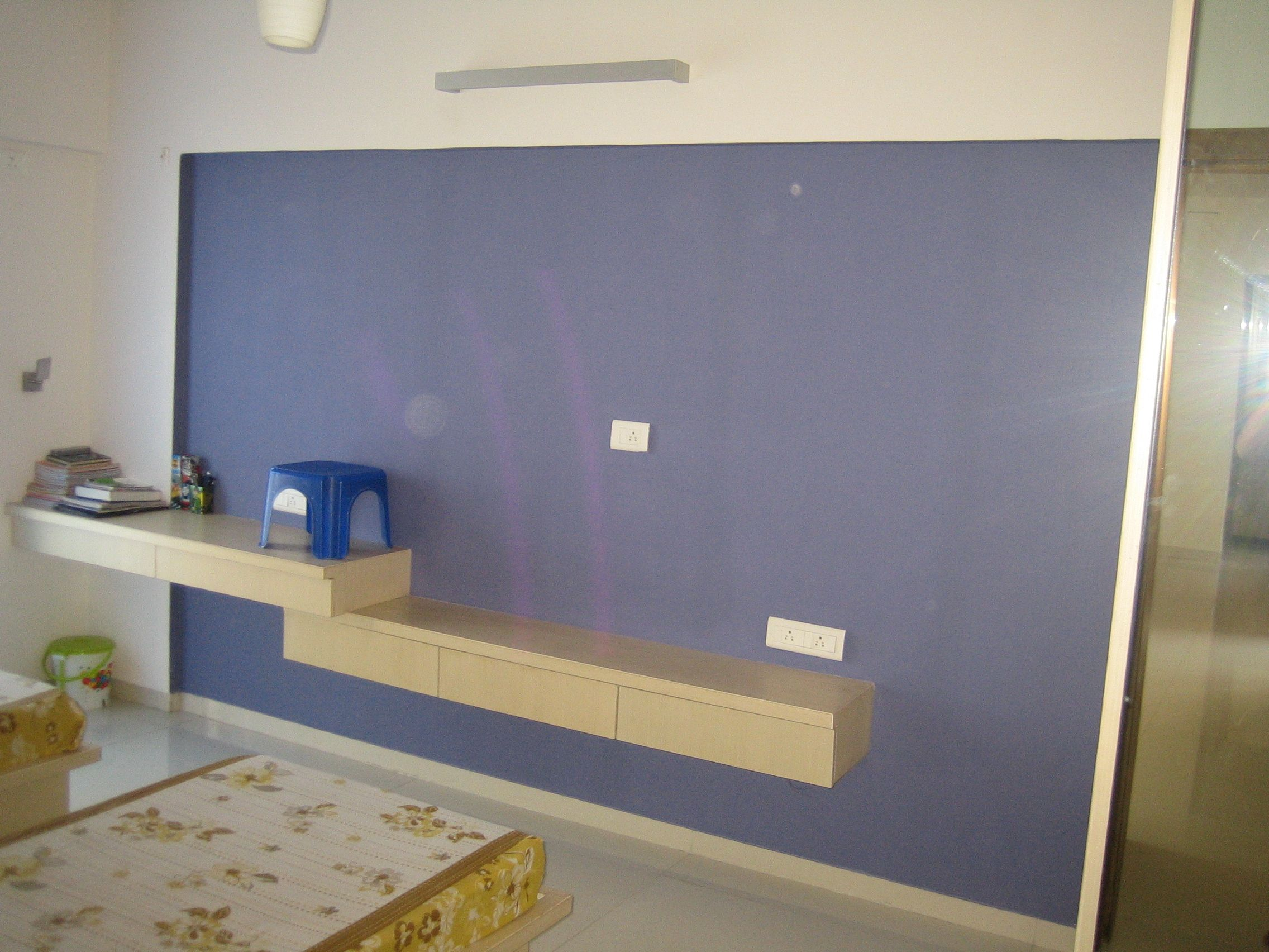 Kids Bedroom Study Cum Tv Unit Rohan Mithila Viman Nagar