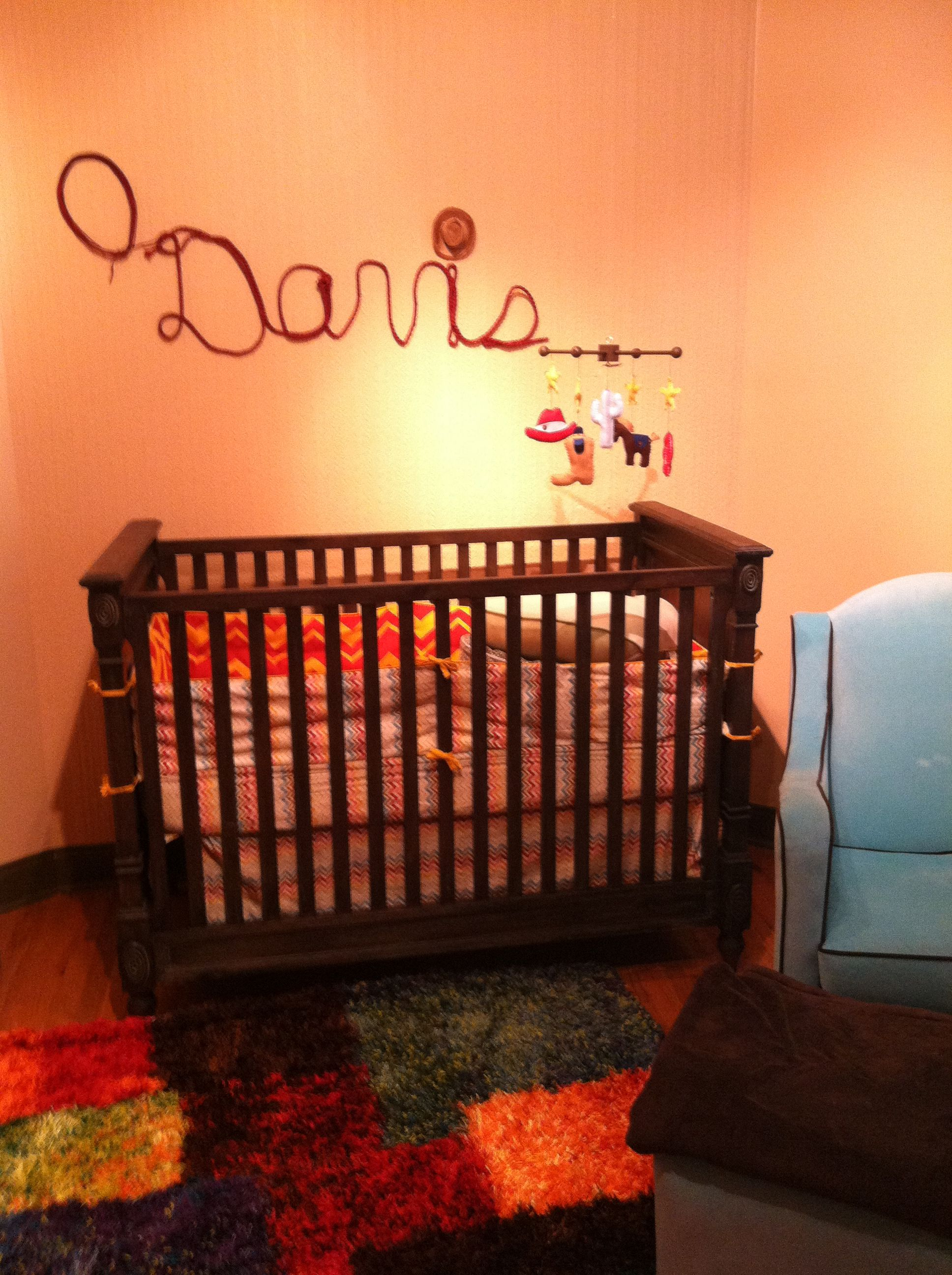 Nursery Modern, Chic yet Country/Western Crib/Changer ...