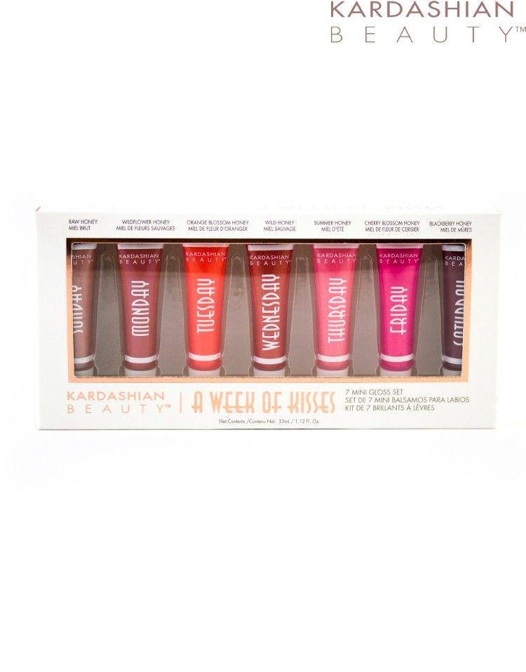 Kardashian Beauty A Week Of Kisses Kardashian Beauty Favorite