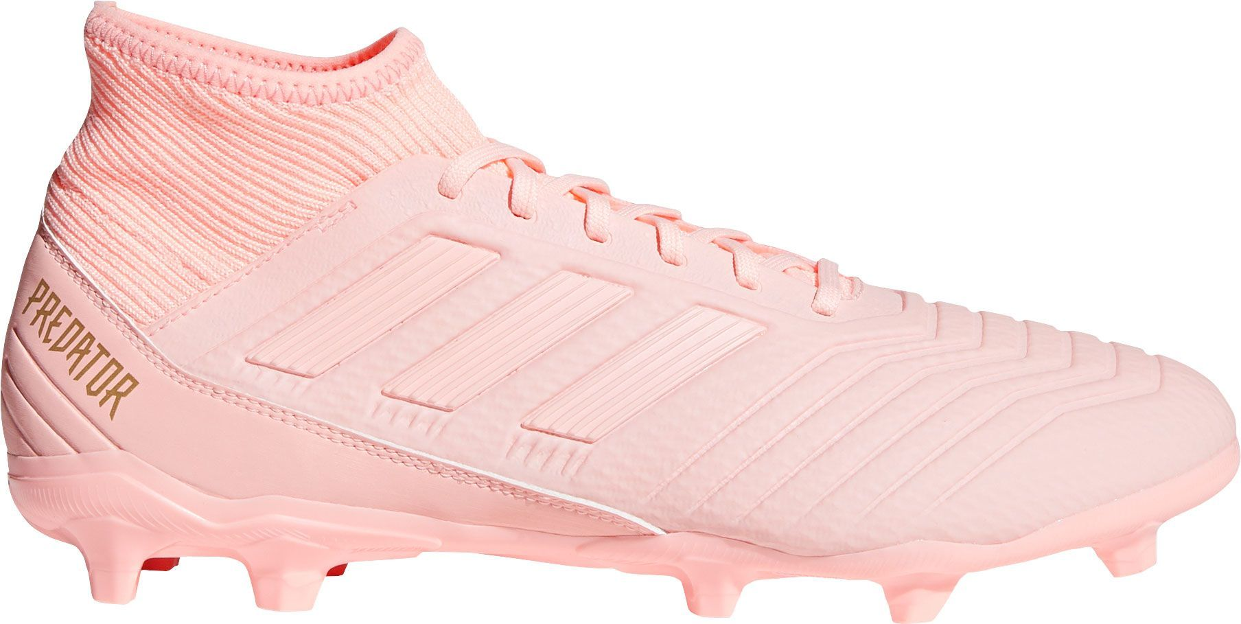 separation shoes 5befe 5f19f adidas Mens Predator 18.3 FG Soccer Cleats, Pink