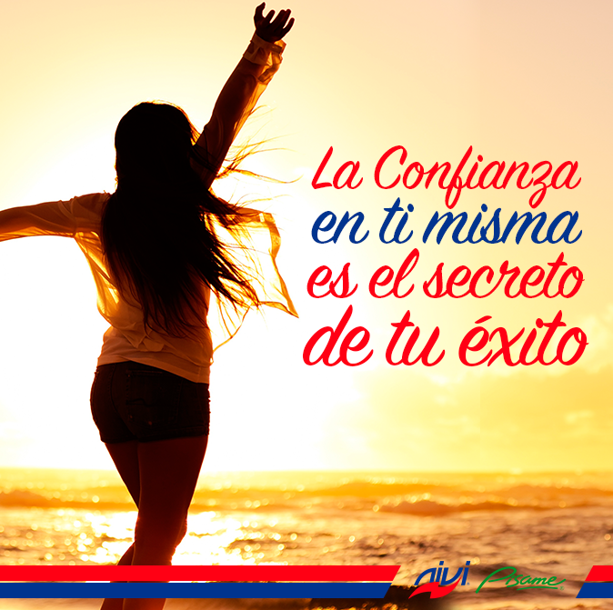 CONFÍA EN TI MISMA... ÉSE ES TU ÉXITO!! #CambiaTuVida con #CatalogoNivi - www.niviglobal.com