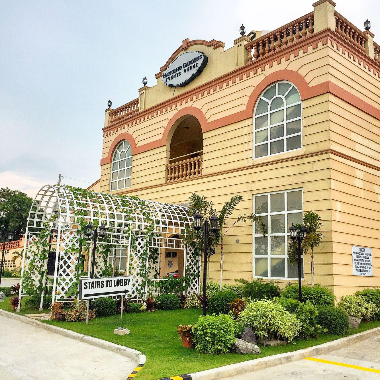 Wedding Venue In Quezon City: Hanging Gardens Event Venue @ Quezon City, Philippines