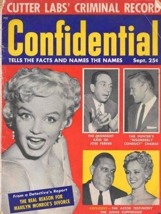 When Gossip Was Gritty: Confidential Magazine in 2020