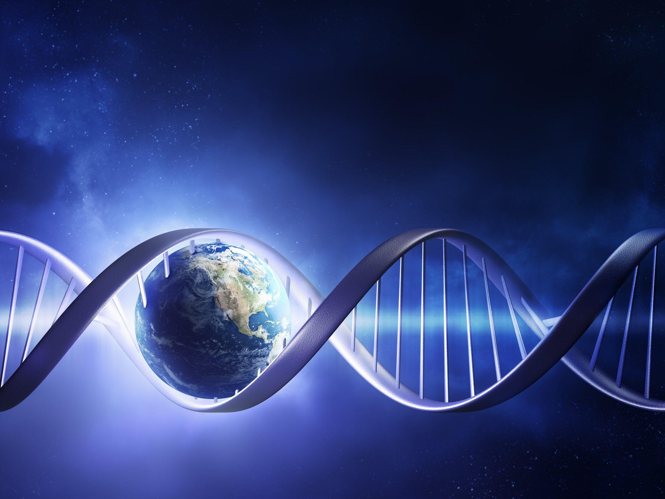 3D DNA Wallpaper 8