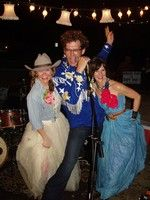 amie and jolie with the john evans band