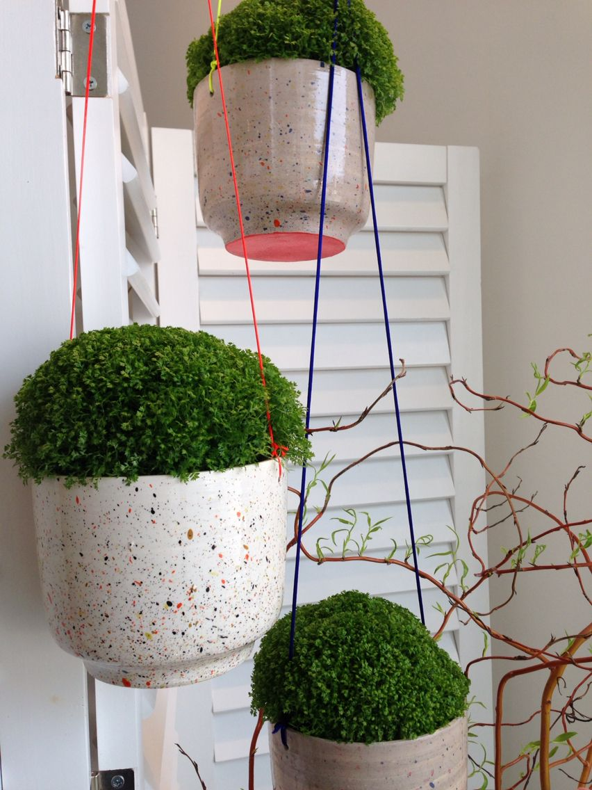 Les céramiques d'Elise Lefebvre chez Pompon Octobre 2014