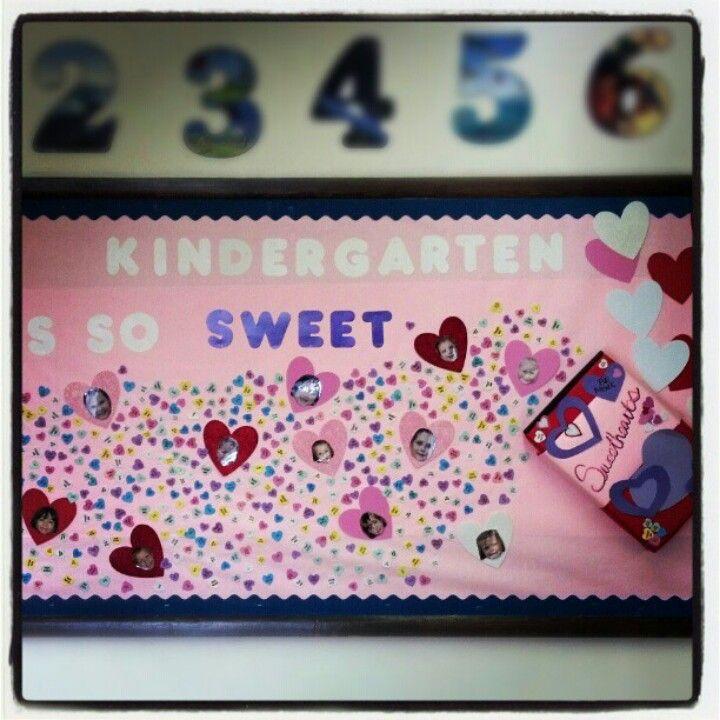Bulletin Board Ideas Early Childhood: Kindergarten Bulletin Board For February
