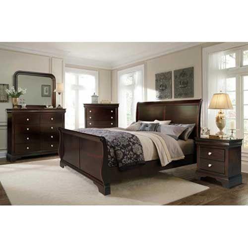 Riversedge Dominique 7 Piece Sleigh Bedroom Group