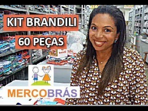 18f1b24fe KIT BRANDILI INFANTIL DE VERÃO - MERCOBRAS MALHAS - YouTube Comprar Roupas  Atacado