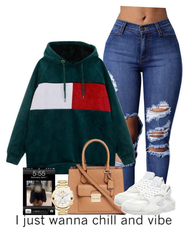 """""""12/20/16"""" by royal-t-1 ❤ liked on Polyvore featuring Michael Kors, NIKE and Movado"""