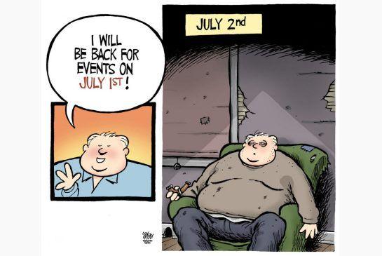 Theo Moudakis Cartoon for June 3. #RobFord #TOpoli