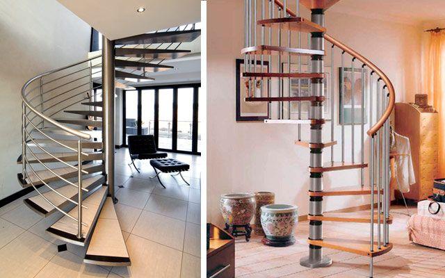 Escaleras Caracol Originales Ideas Originales En 2018 Pinterest - Escaleras-de-caracol-modernas