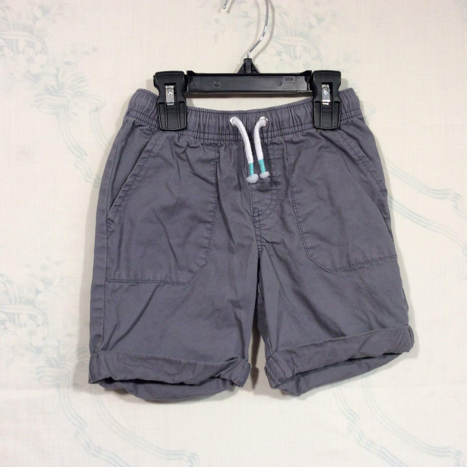 Cat u jack gray elastic waist shorts t products