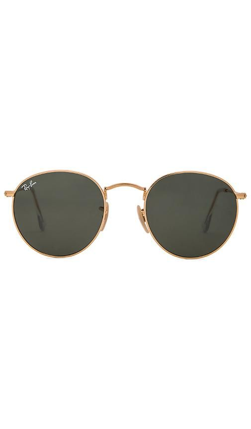 96e16c31e4 Shop for Ray-Ban Round Metal in Green Classic at REVOLVE. Free 2-3 day  shipping and returns