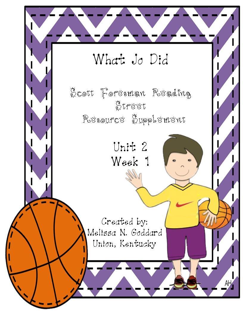 What Jo Did Teacherspayteachers Com Reading Street 4th Grade Reading Writing Traits Reading street grade unit week 4