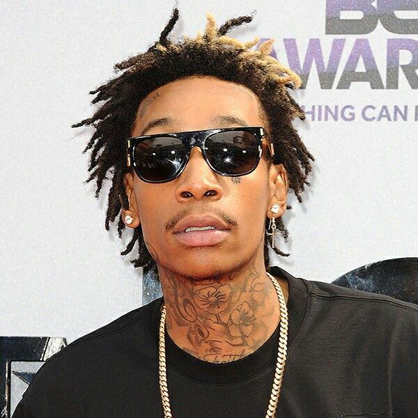 Wiz Khalifa Black Man Men Style Black Gold Street Tgod Dreads Styles Hair Sponge Long Hair Styles Men