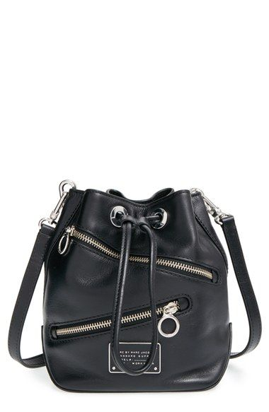 f066650e8348a MARC BY MARC JACOBS  Small Too Hot to Handle  Zip Leather Bucket Bag  available at  Nordstrom