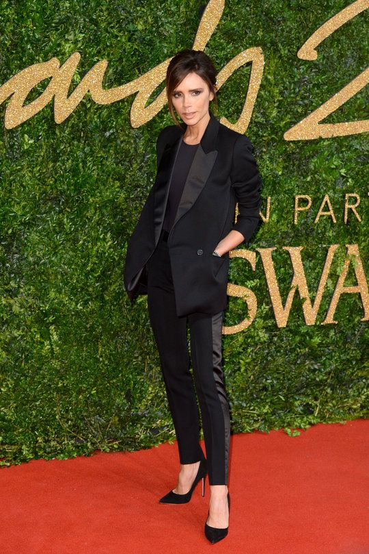 Victoria Beckham aux British Fashion Awards 2015