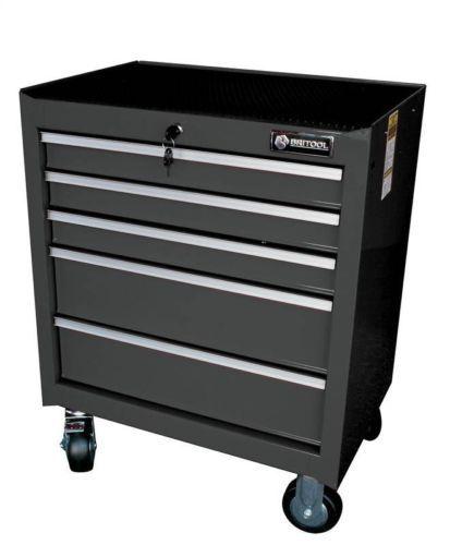 Britool Expert 5 Drawer Roller Metal Trolley Tool Box Unit Cabinet