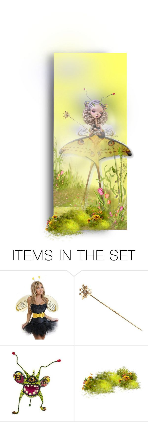 """""""The Moth"""" by auntiehelen ❤ liked on Polyvore featuring art"""