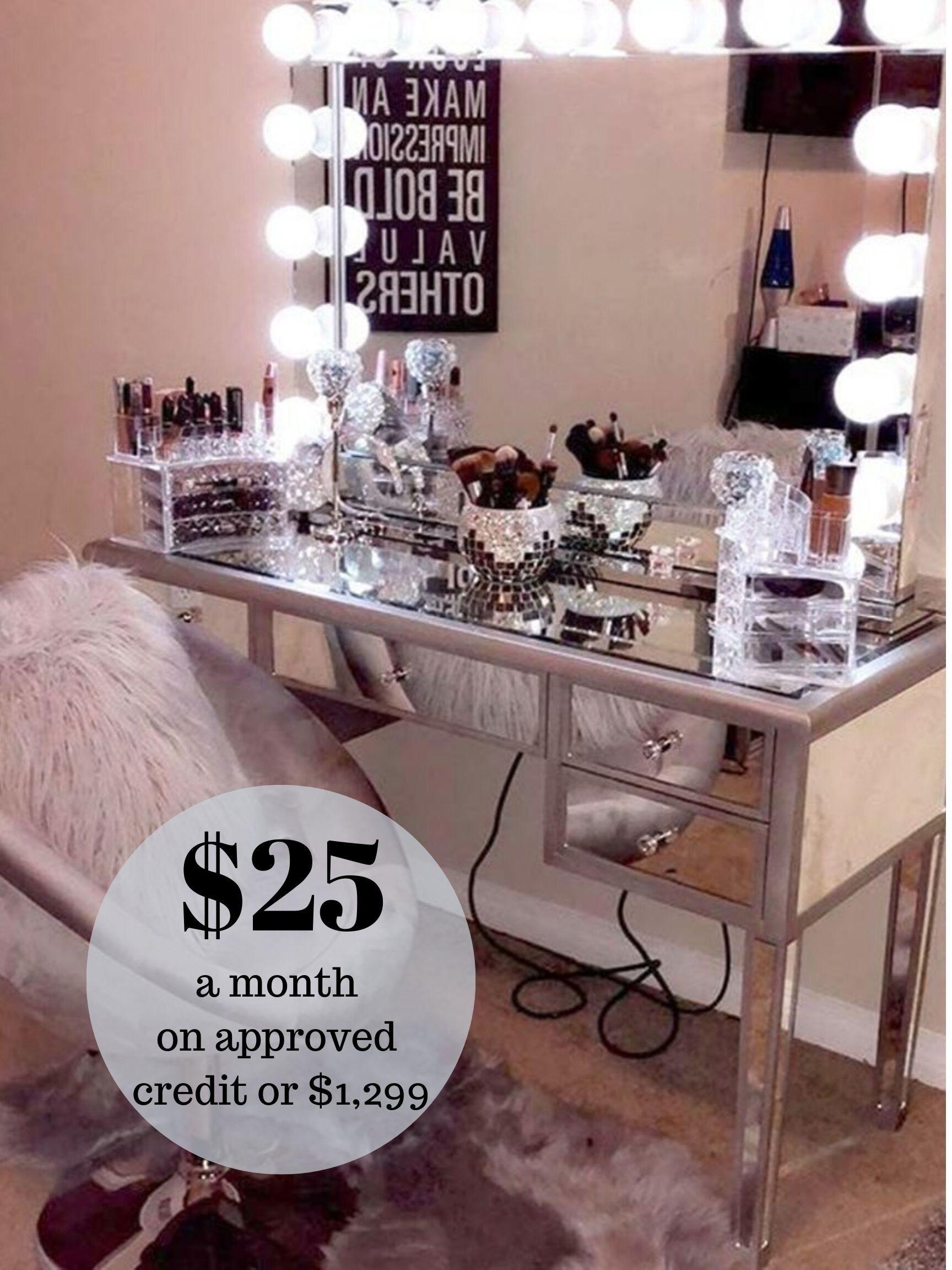 Vanity Mirror Stations. Makeup Mirror. Hollywood Mirror Stations