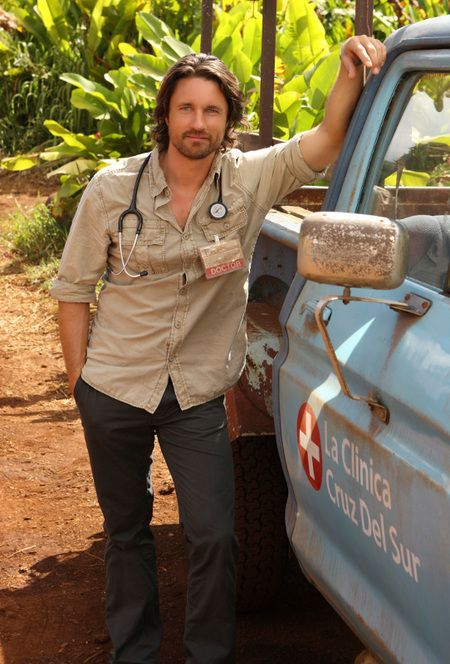 Dr Ben Keeton (Martin Henderson), Off the Map. Hot Doctor.