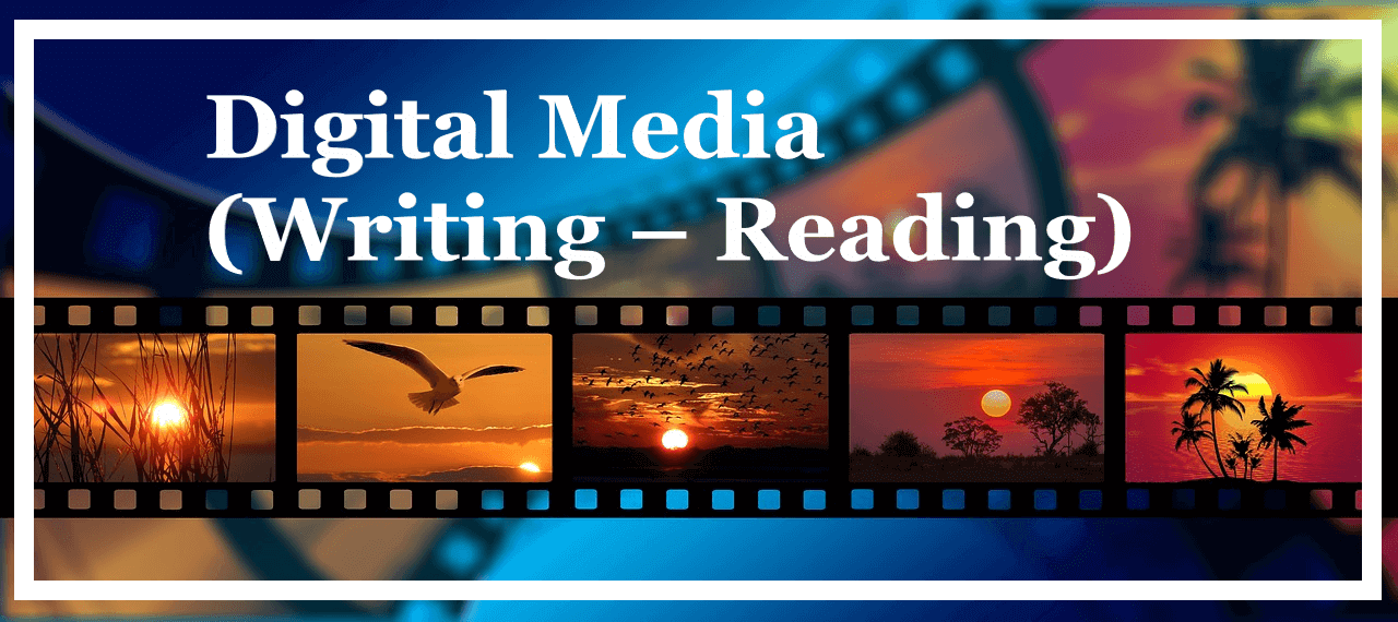 Digital Media Writing Reading Submitted By Jagjit Gupta To Mr Abhishek Sir Importance Of Digital Digital Media Digital Media Technology Digital