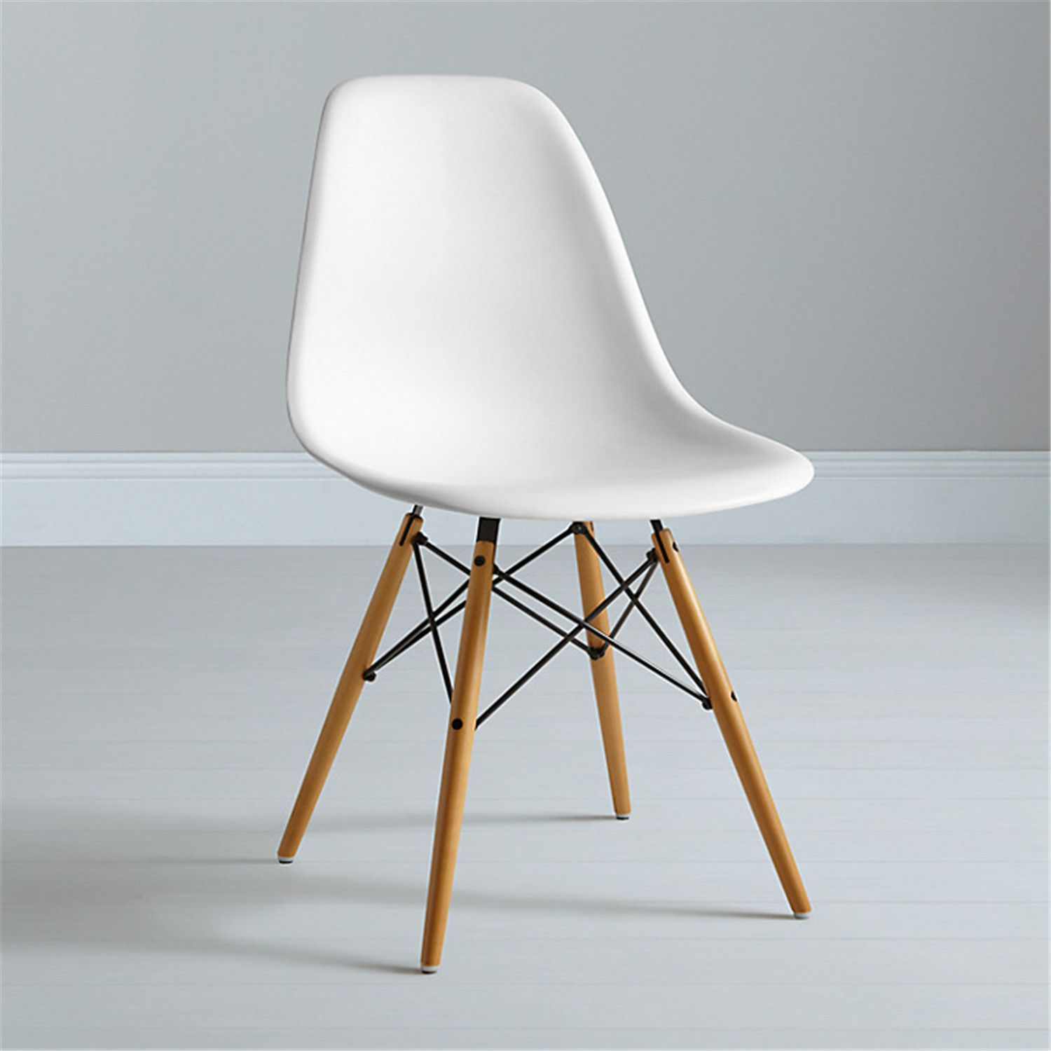 Eames DSW Replica Eiffel Dining Chair WHITE dining chair