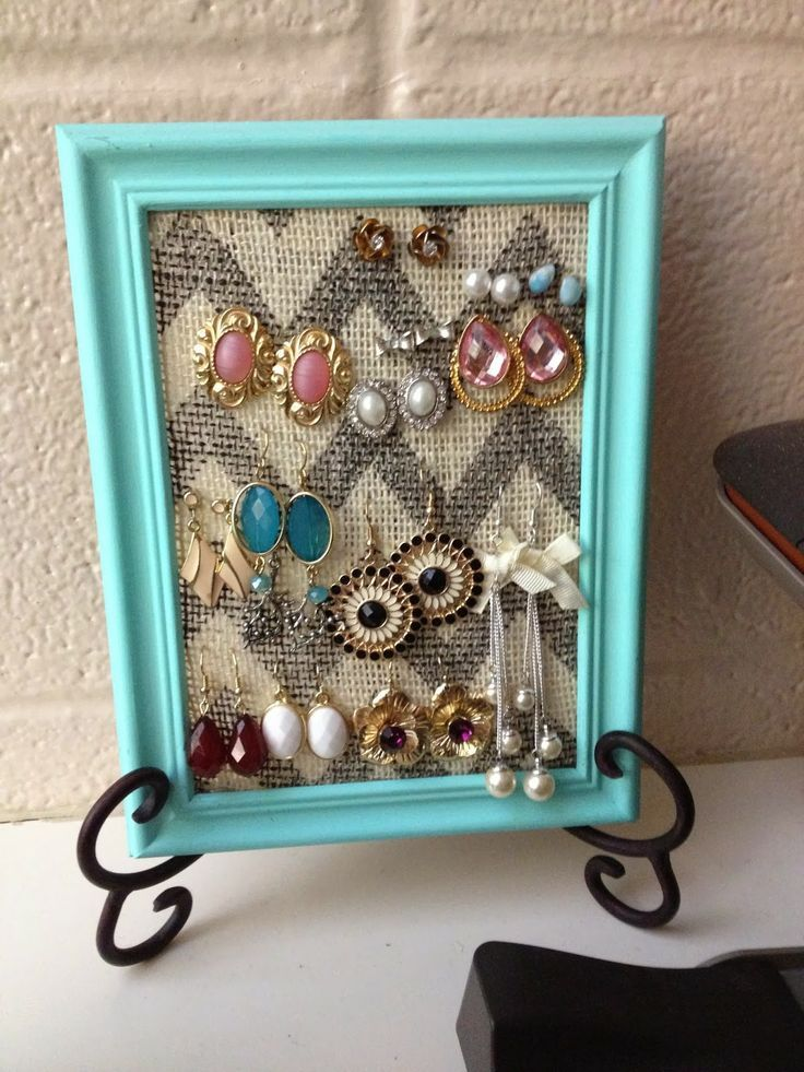 15 Amazing Diy Jewelry Holder Ideas To Try Diy Furniture
