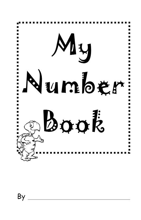 Business Book Cover Number ~ My number book teaches recognition for preschoolers