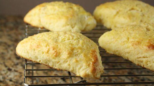 Lemon Honey Scones Recipe Scones Recipes Food