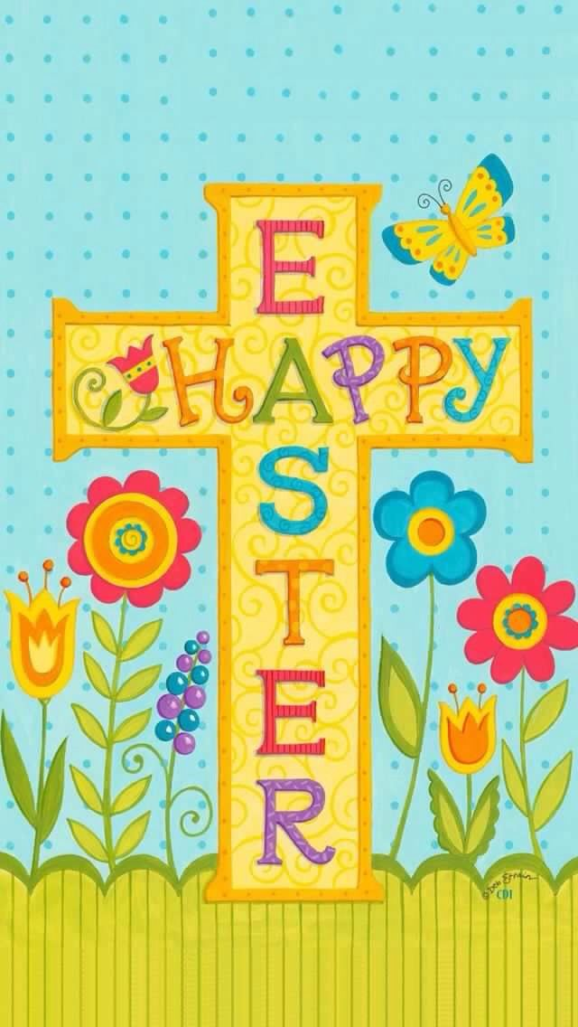 Pin by jennifer fleming on iphoneeaster wallpapers pinterest happy easter religious cross tulip house flag 28 x 40 custom decor x text correctly readable on both sides of flag mildew and fade resistant 300 denier negle Image collections