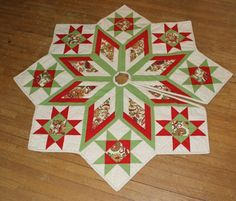 Quilt Block Tree Skirt ~ | Quilt Patterns | Pinterest | Tree ... : quilted tree skirt patterns - Adamdwight.com