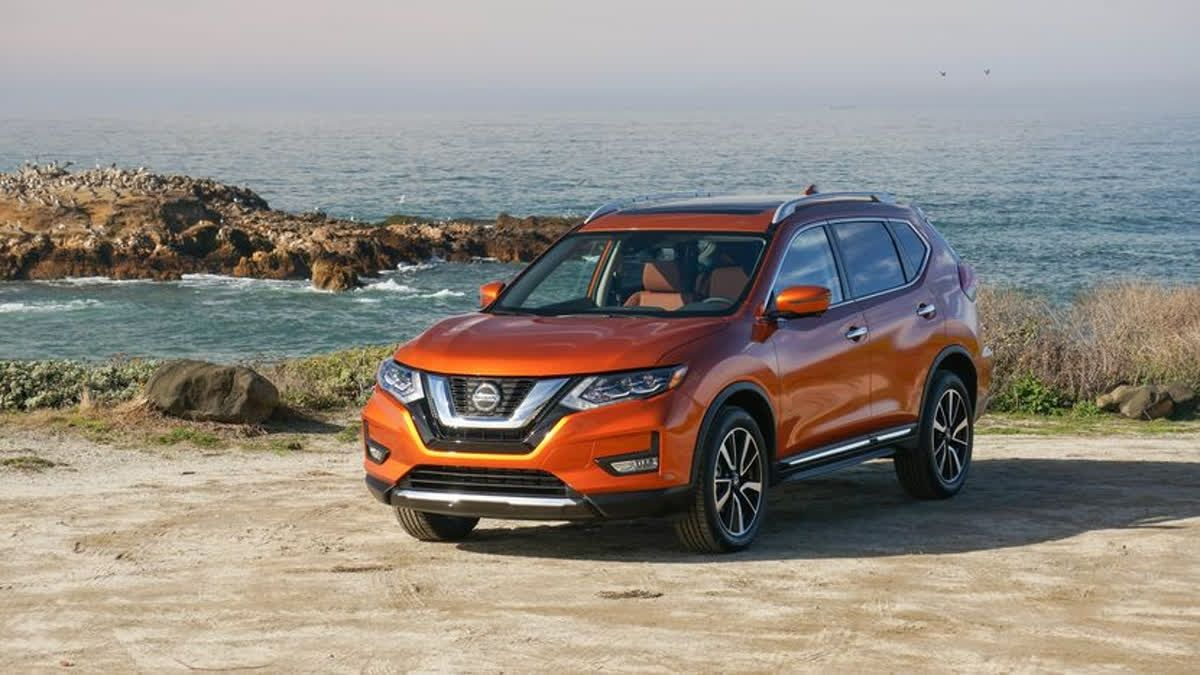 The #Nissan #Rogue Has An All Wheel Drive Setup And 8.4 Inches