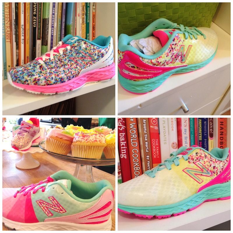 86ad73656d The PERFECT Easter Shoe!! The New Balance Cake And Ice Cream Pack  Perfect  For The Sweet Girls In Your Life