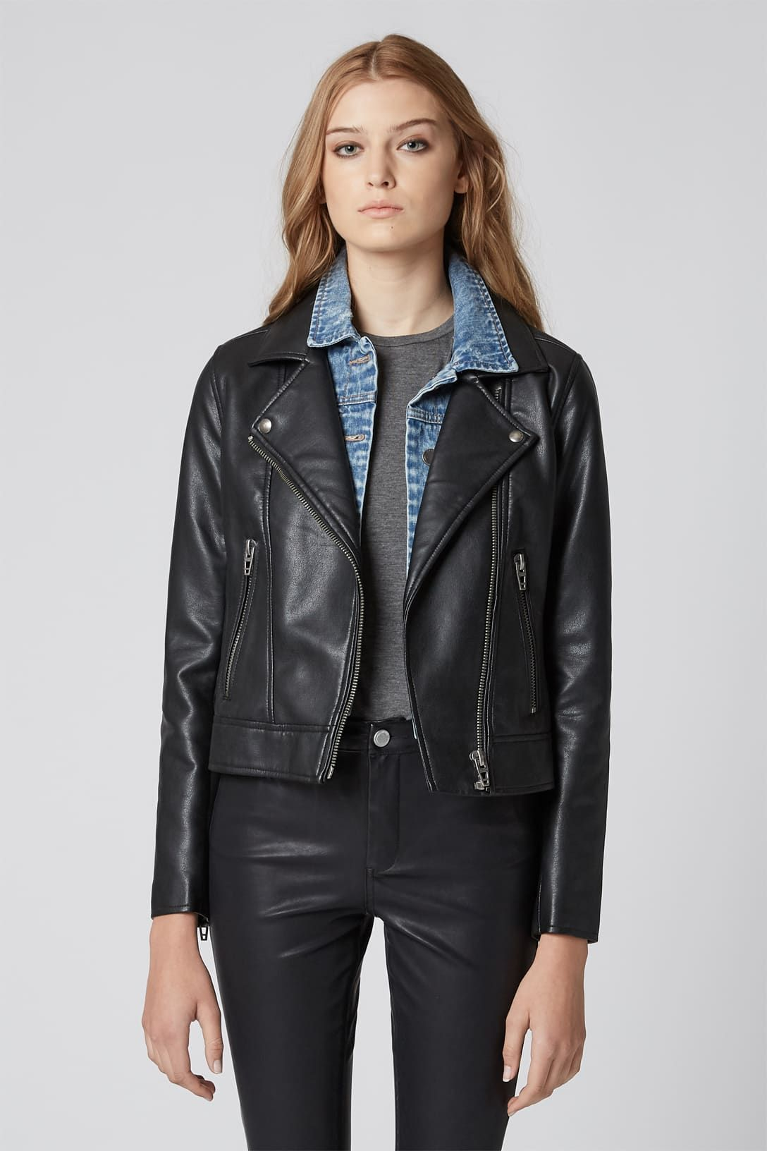 Faux Leather Jacket Best Fall Jackets For Women