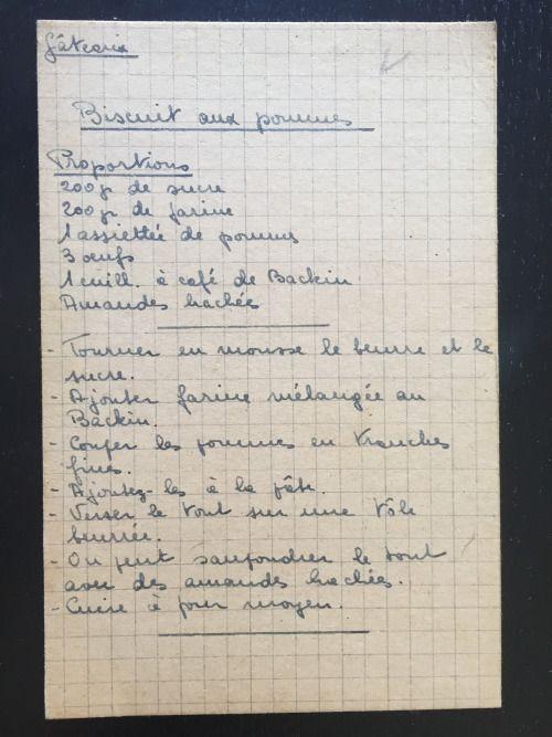 Recettes De Famille Cahiers De Cuisine Familiale Patisserie Gateaux Biscuits Aux Pomm Recette En Famille Cahier De Cuisine Recette De Cuisine Familiale