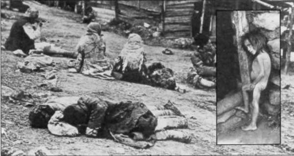These are not the victims of the Nazis. It's Ukrainians. victims of communist madness.
